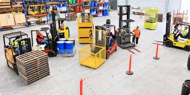 Consulenza e formazione carrelli elevatori